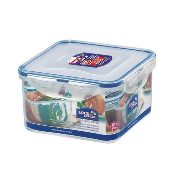 Lock & Lock Square Container 1.2 Ltr