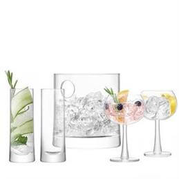 LSA Glass Gin Ice Set