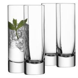 LSA Bar Highball Glasses: Set Of 4