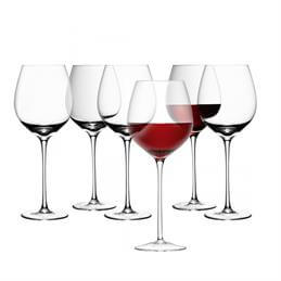 LSA Wine Range Red Wine Glasses: 6 For The Price Of 4