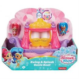 Fisher Price Shimmer and Shine Swing & Splash Genie Boat