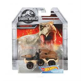 Hotwheels Jurassic World Character Cars Assorted