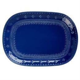 Maxwell & Williams Ponto Oblong Serving Platter: 40cm x 28cm