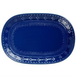 Maxwell & Williams Ponto Oblong Serving Platter: 45cm x 33cm