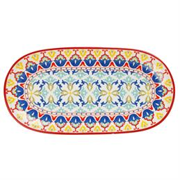 Maxwell & Williams Lanka Oblong Serving Platter: 33cm x 17cm