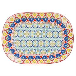 Maxwell & Williams Lanka Oblong Serving Platter: 45cm x 33cm