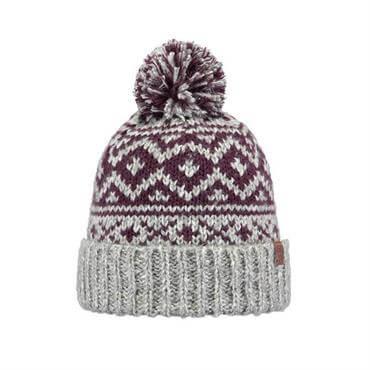 312cbc3938695 ... Barts Cartonn Knitted Beanie Hat- Heather