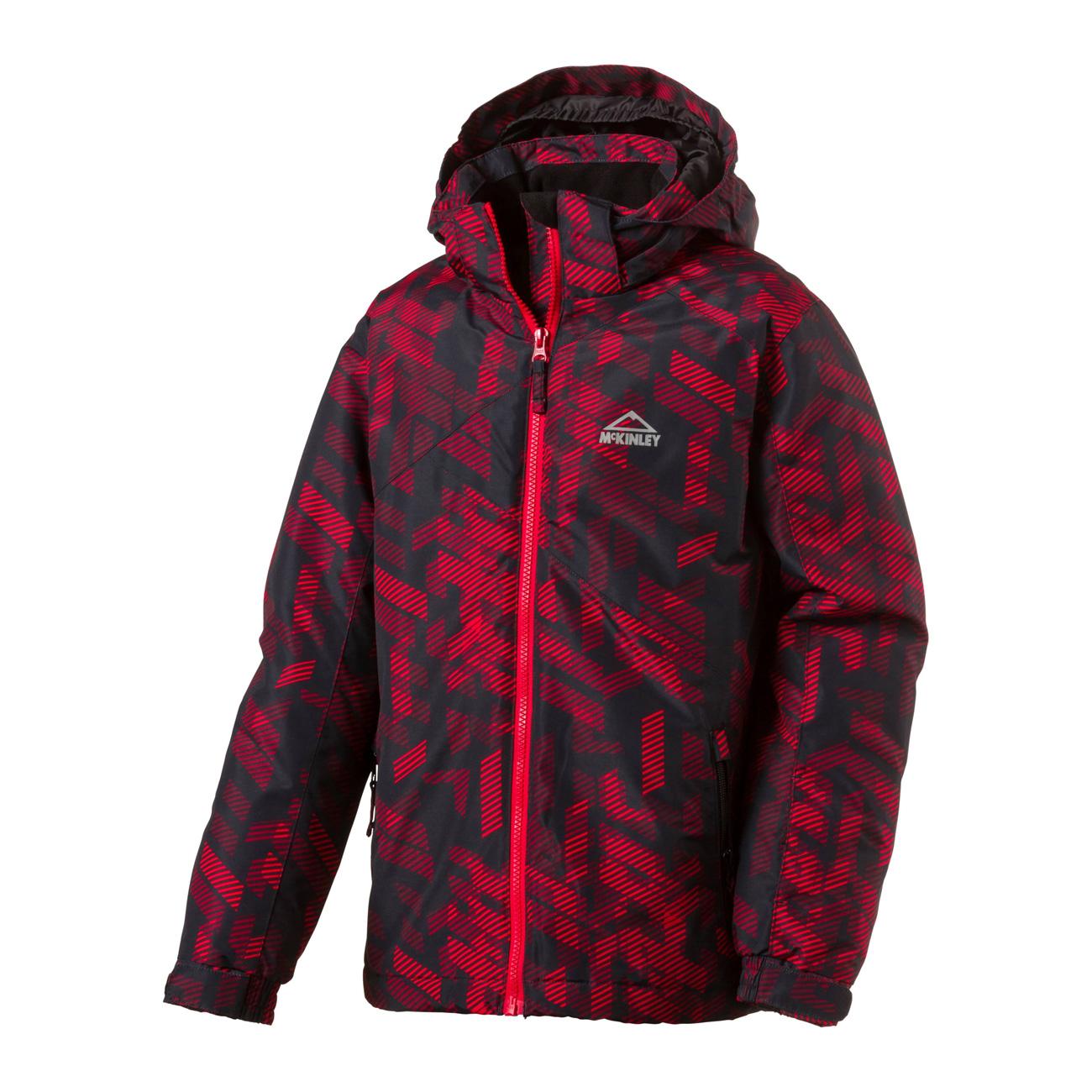 bc96559a2 McKINLEY Boy s Cody Ski Jacket- Black Red
