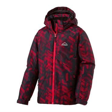 eefc154385 McKINLEY Boy s Cody Ski Jacket- Black Red