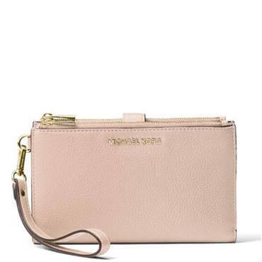 924246a15b3f ... Michael Michael Kors Adele Leather Smartphone Wallet