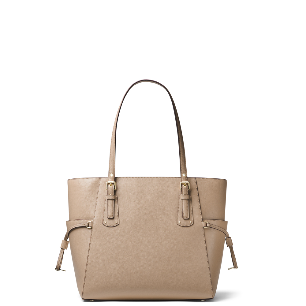 cdec32f65057 Michael Michael Kors Voyager Small Truffle Crossgrain Leather Tote ...