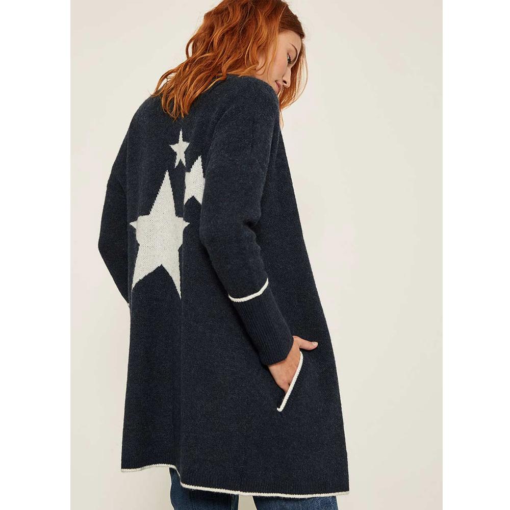 3108b89a42532 Mint Velvet Indigo Star Back Cardigan | Knitwear | Knitwear ...