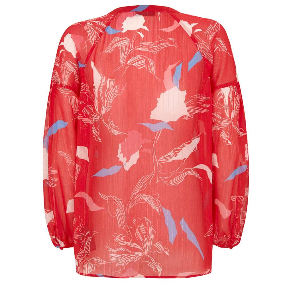 4356aa4deede Mint Velvet Red Ruby Print Blouse   Tops   Tops   Jarrolds Norwich ...
