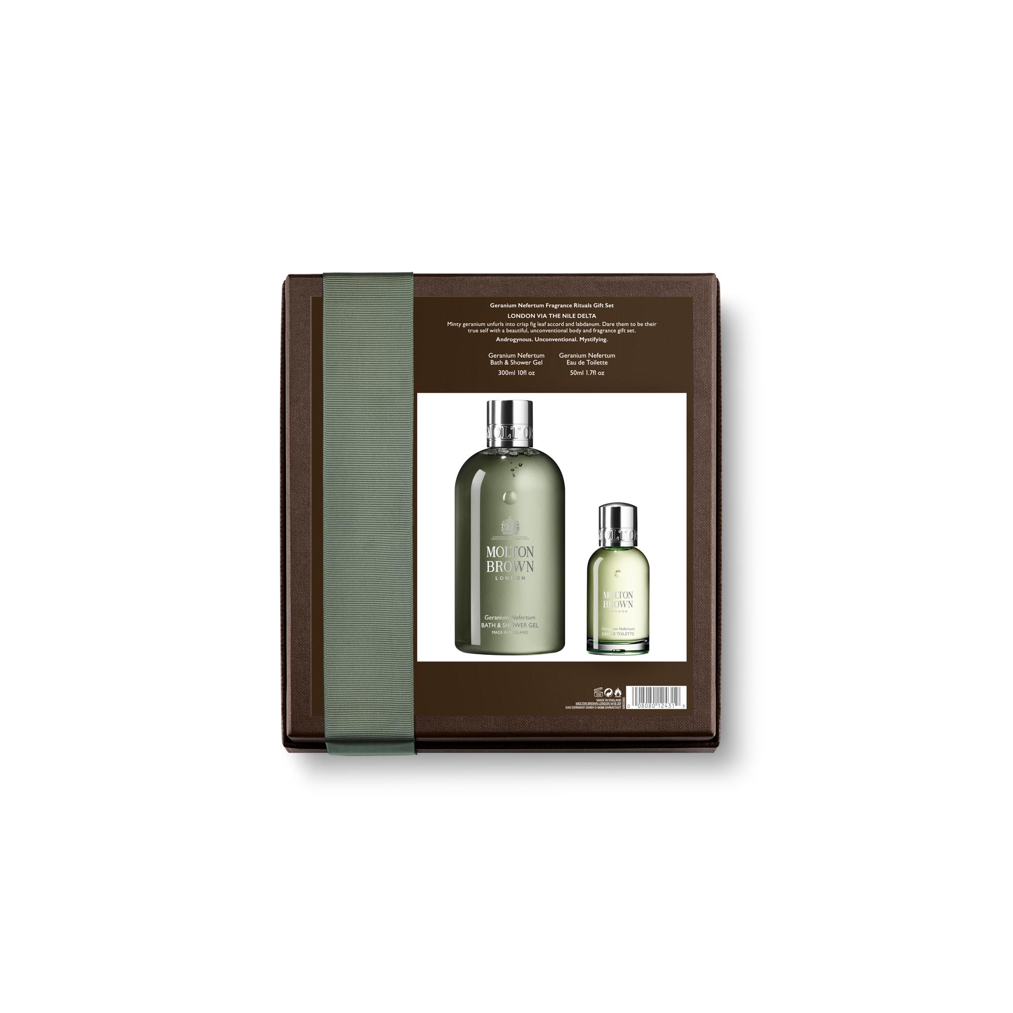 2290bc4c0ee Molton Brown Geranium Nefertum Fragrance Rituals Gift Set