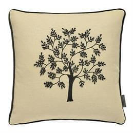 William Morris Seaweed Embroidered Cushion