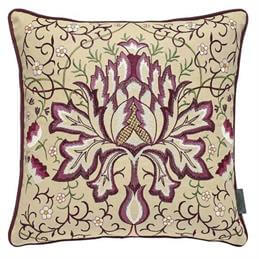 William Morris & Co Pimpernel Artichoke Cushion
