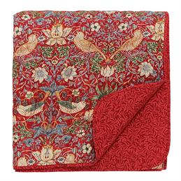 William Morris Strawberry Thief Quilted Bedspread