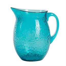Summerhouse Aruba Bubble Acylic Pitcher: Blue