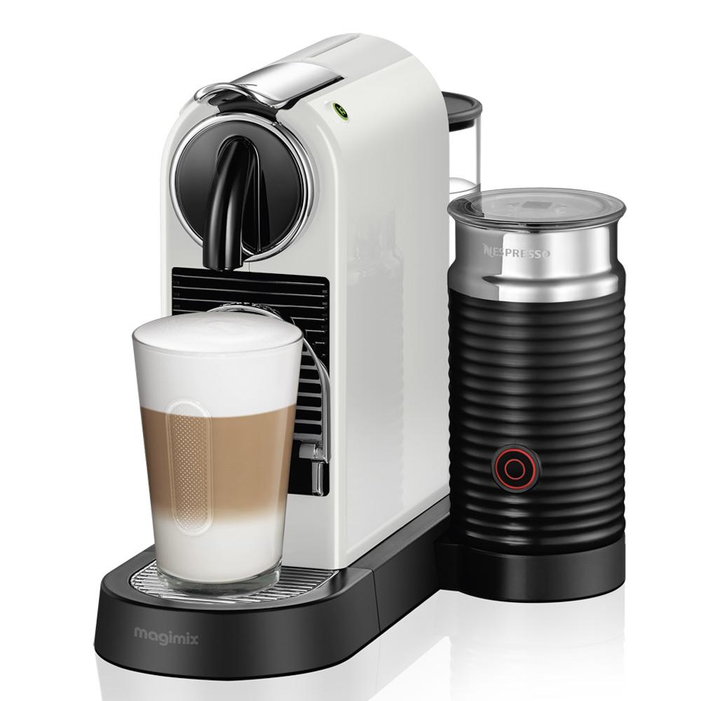 magimix nespresso white citiz milk jarrold norwich. Black Bedroom Furniture Sets. Home Design Ideas
