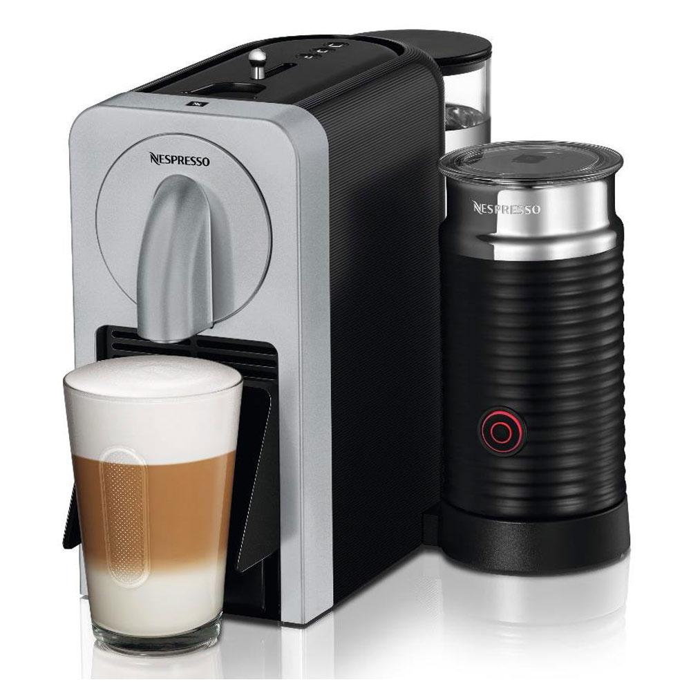 magimix nespresso prodigio silver with aeroccino smart. Black Bedroom Furniture Sets. Home Design Ideas