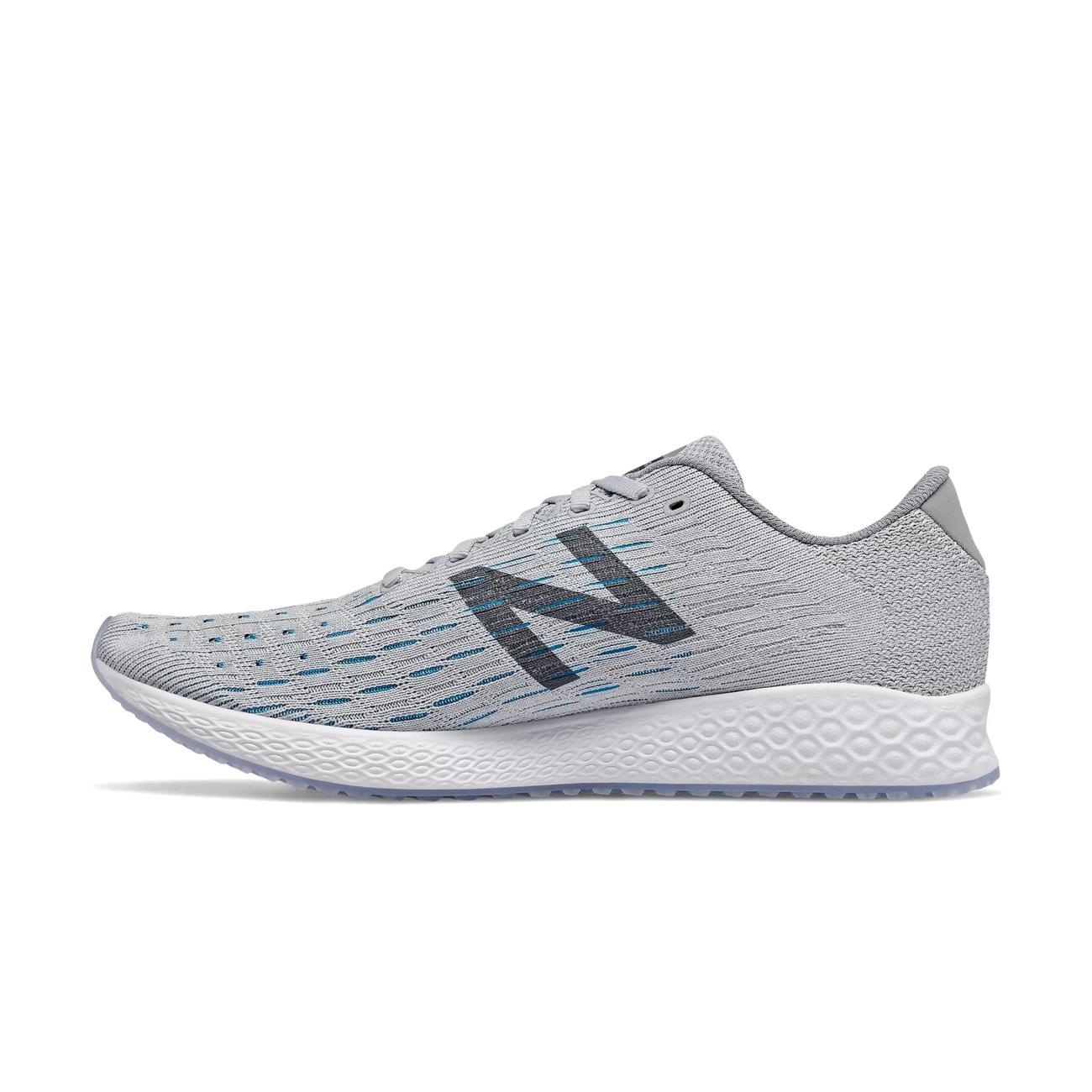 192a4e9929 New Balance Men's Fresh Foam Zante Pursuit Running Shoe - Light Aluminum /Steel