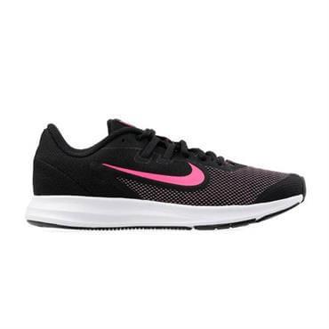 d97b5082dcaec ... Nike Older Kid s Downshifter 9 Running Shoes - Black Hyper Pink