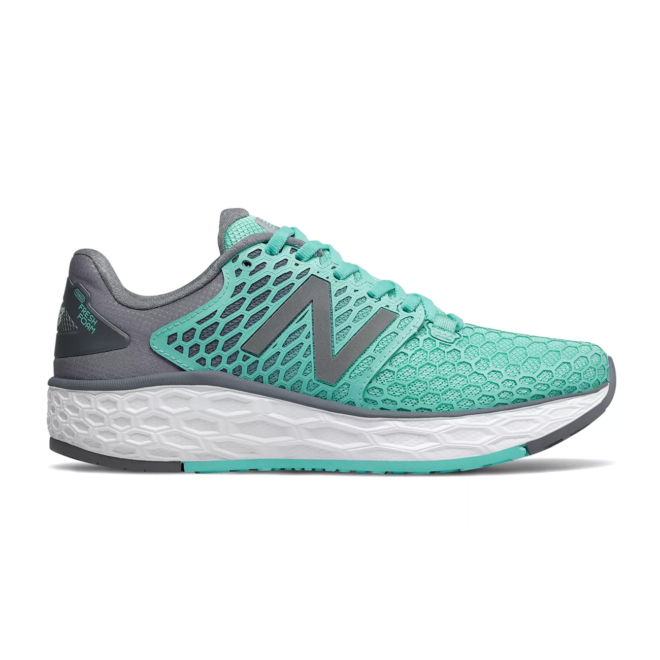 b9c498868d01b New Balance Womens Fresh Foam Vongo V3 Running Shoe Light Tidepool