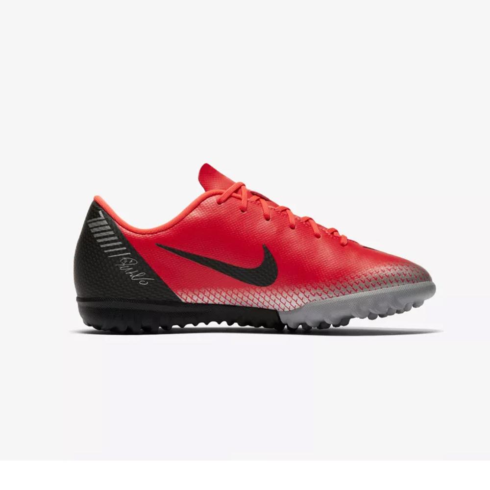 ca50cf995 Nike Junior MercurialX Vapor XII Academy CR7 Football Boots Bright Crimson