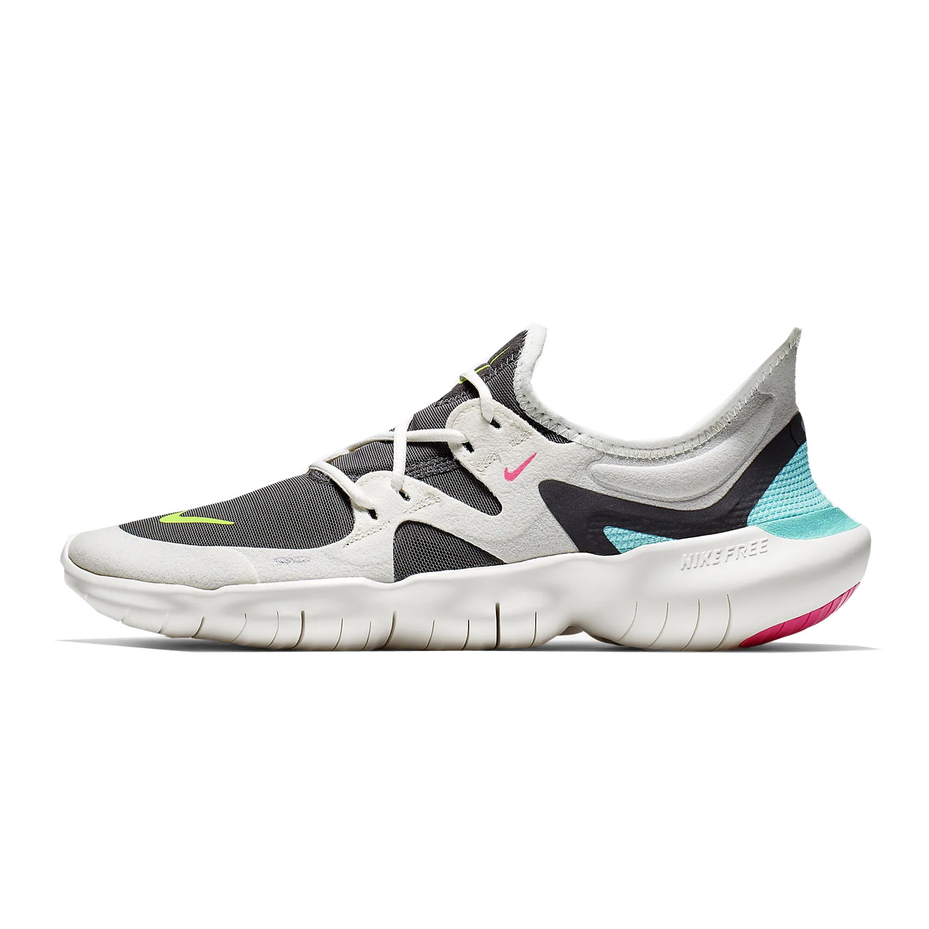 30d935111b21 Nike Women s Free RN 5.0 Running Shoe - Sail Volt Thunder