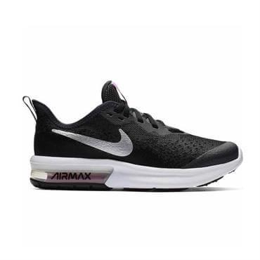 best service f5685 ce257 ... Nike Junior Air Max Sequent 4 Running Shoe - Black