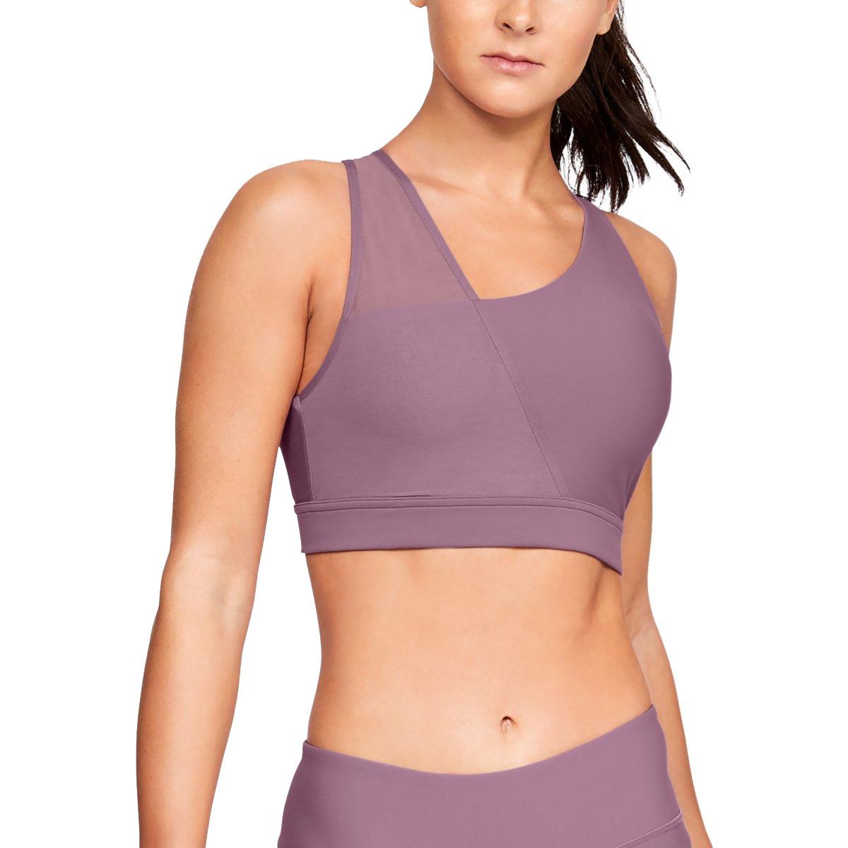86e97202be732 Under Armour Women s Vanish Asymmetric Low Sports Bra - Purple ...