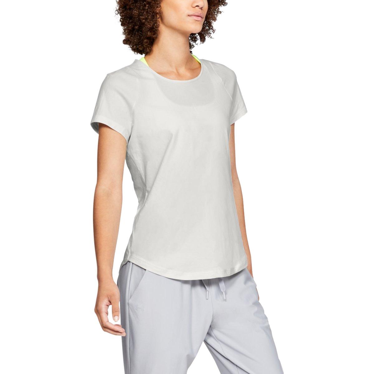 Under Armour Women s Vanish Short Sleeve T-Shirt - Onyx White ... 87f1b013b4