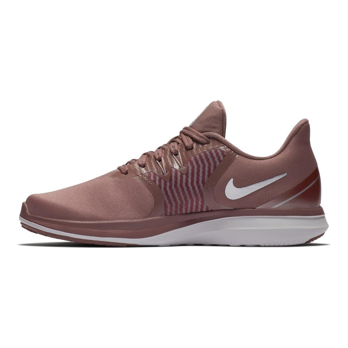 57288ecf700406 Nike Women s In-Season TR 8 Print Training Shoes- Smokey Mauve ...