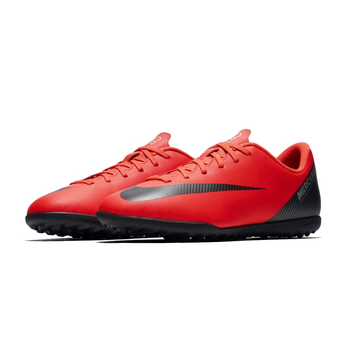 Nike Junior CR7 Mercurial Vapor XII Club TF Football Boot Bright Crimson 670b709f8c0