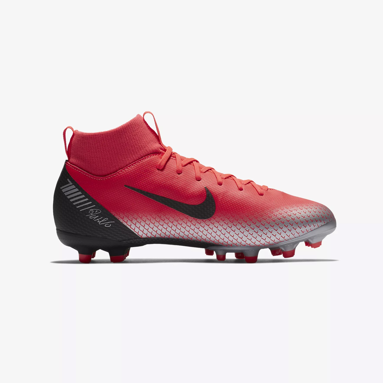 more photos 7d854 1a673 Nike Junior Mercurial Superfly 6 CR7 Multi-Ground Football Boot Bright  Crimson