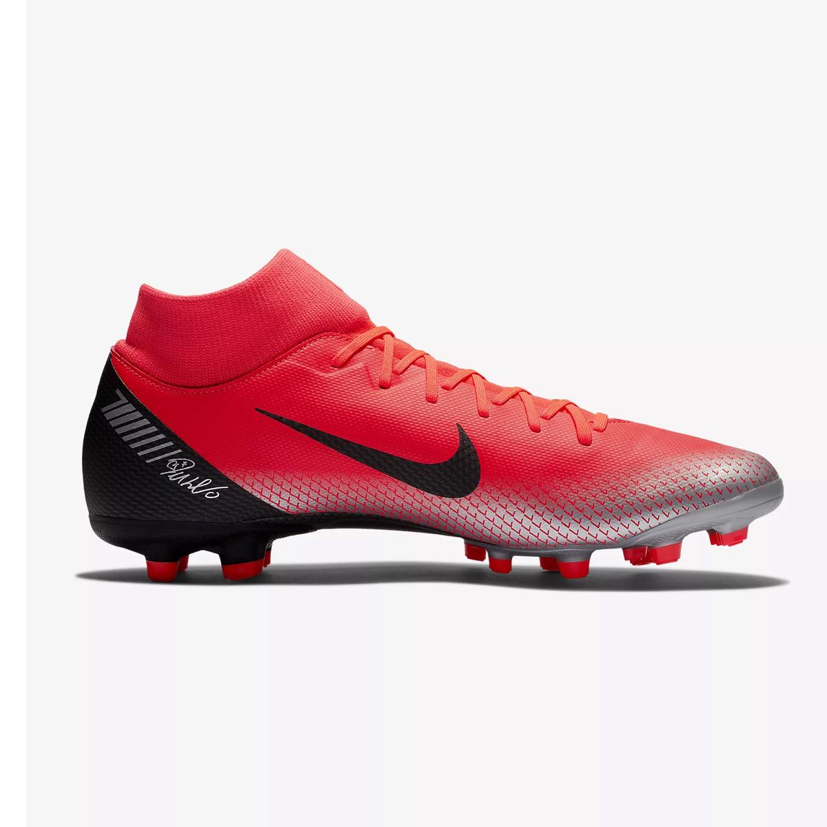 97d4e2355 Nike Mens Mercurial Superfly 6 Academy CR7 Multi Ground Football Boot  Bright Crimson