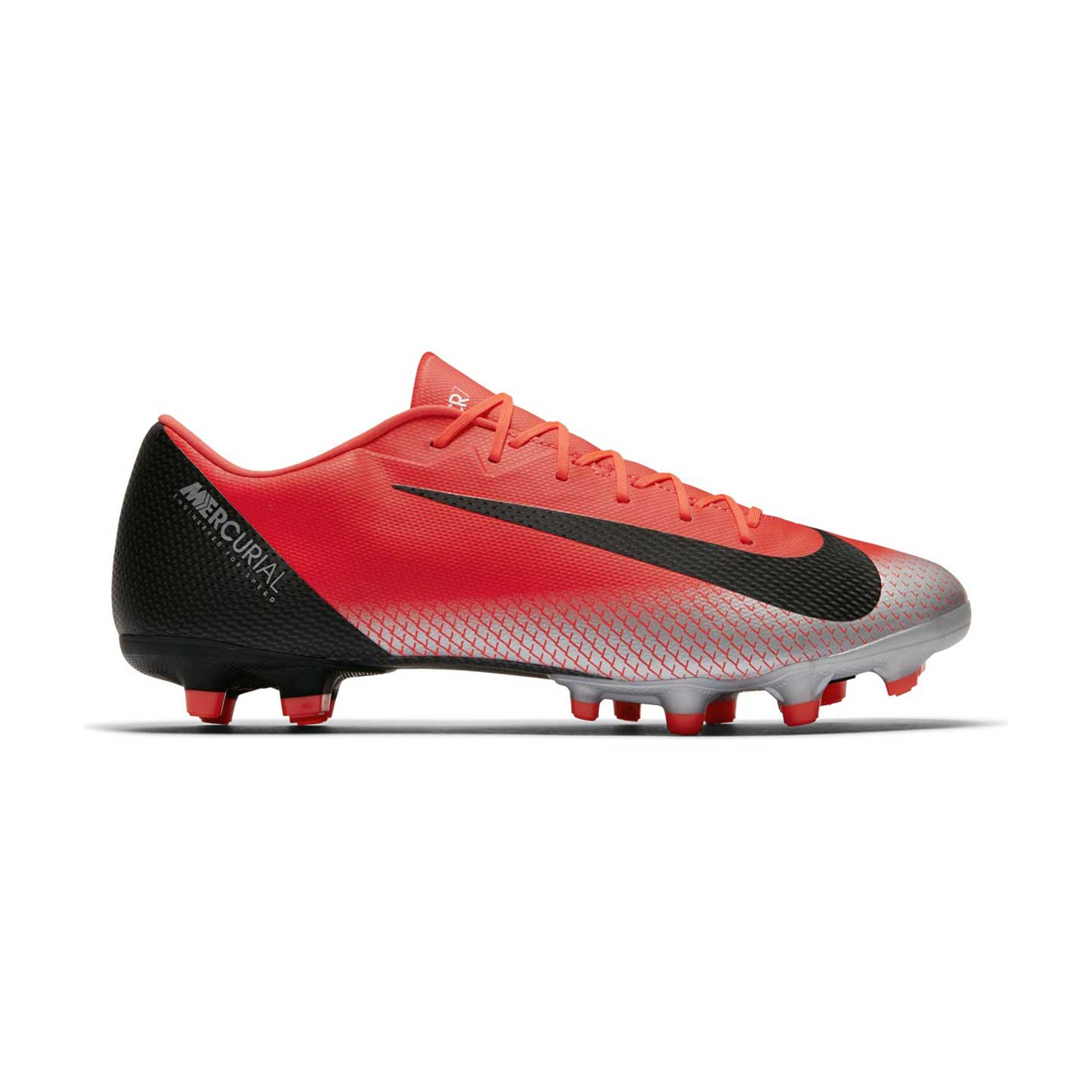 3707978c6 Nike Mens Mercurial Multi Ground Football Boot Vapor XII Academy Bright  Crimson