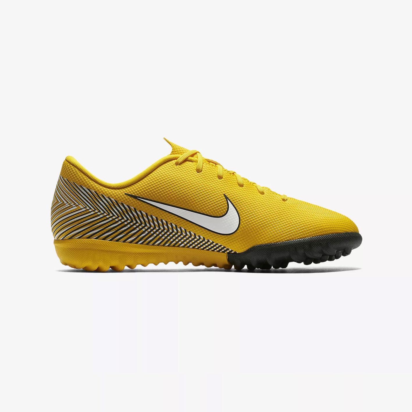 55be267ae Nike Kids Mercurial Vapor XII Academy Neymar Turf Football Boots Amarillo