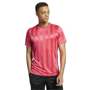 5f608d27 ... Nike Men's Breathe Academy Short Sleeve Top - Ember Glow