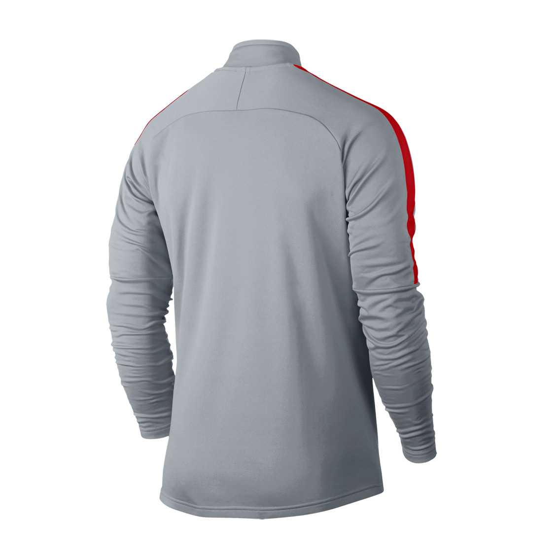 00f1be96f Nike Men's Dry Academy ¼ Zip Football Drill Top- Wolf Grey | Adults ...