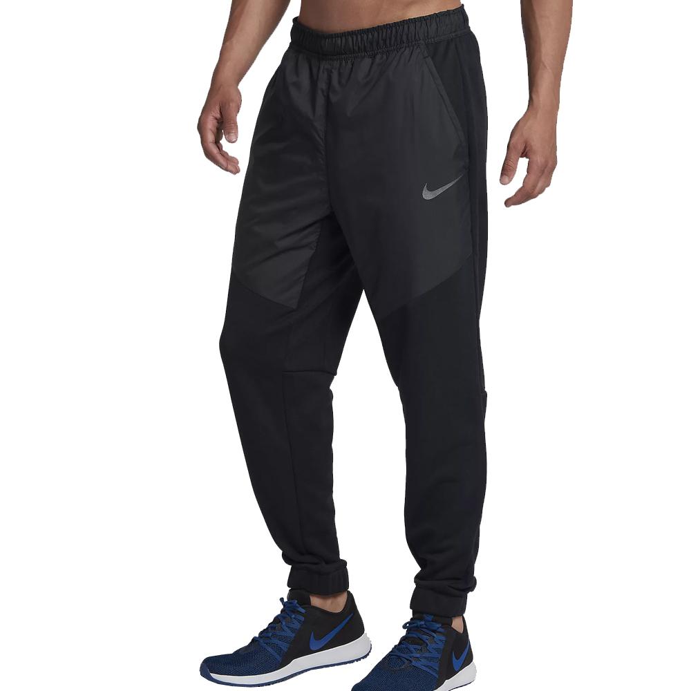 2a2aa3587431 Nike Dri-FIT Men s Utility Fleece Training Trousers- Black Metallic ...