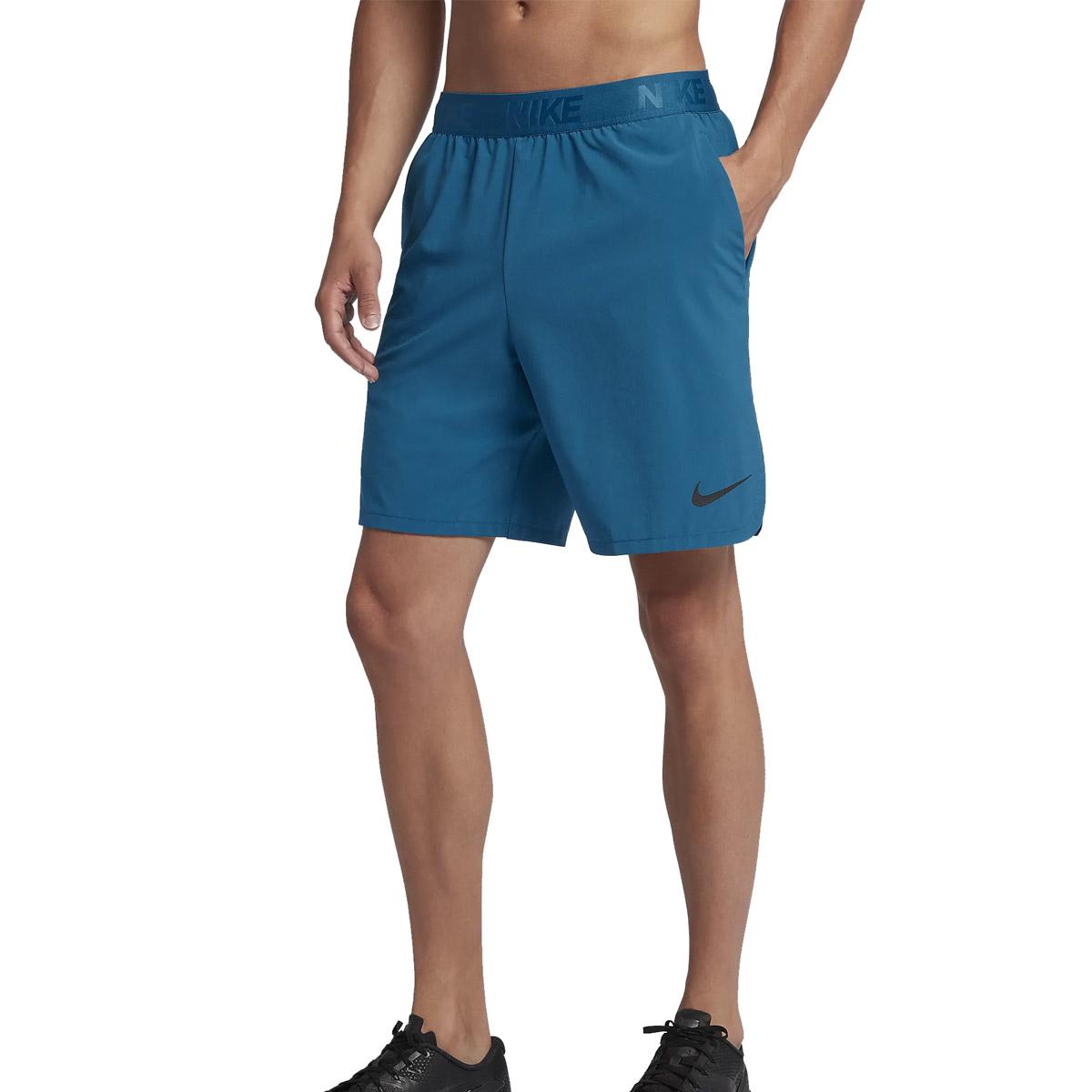 2eee27896a7bb Nike Men s Flex Woven Fitness Shorts 21cm - Green Abyss