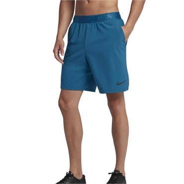 162448e4cb28a ... Nike Men s Flex Woven Fitness Shorts 21cm - Green Abyss