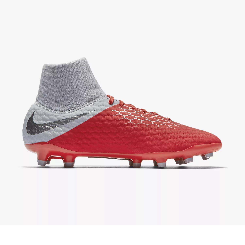 456504cbe Nike Mens Hypervenom Phantom III Academy Dynamic Fit FG Football Boots  Light Crimson