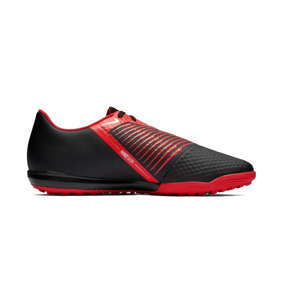 317dec370 Nike Men s PhantomVNM Academy TF Turf Football Shoe - Black Crimson ...