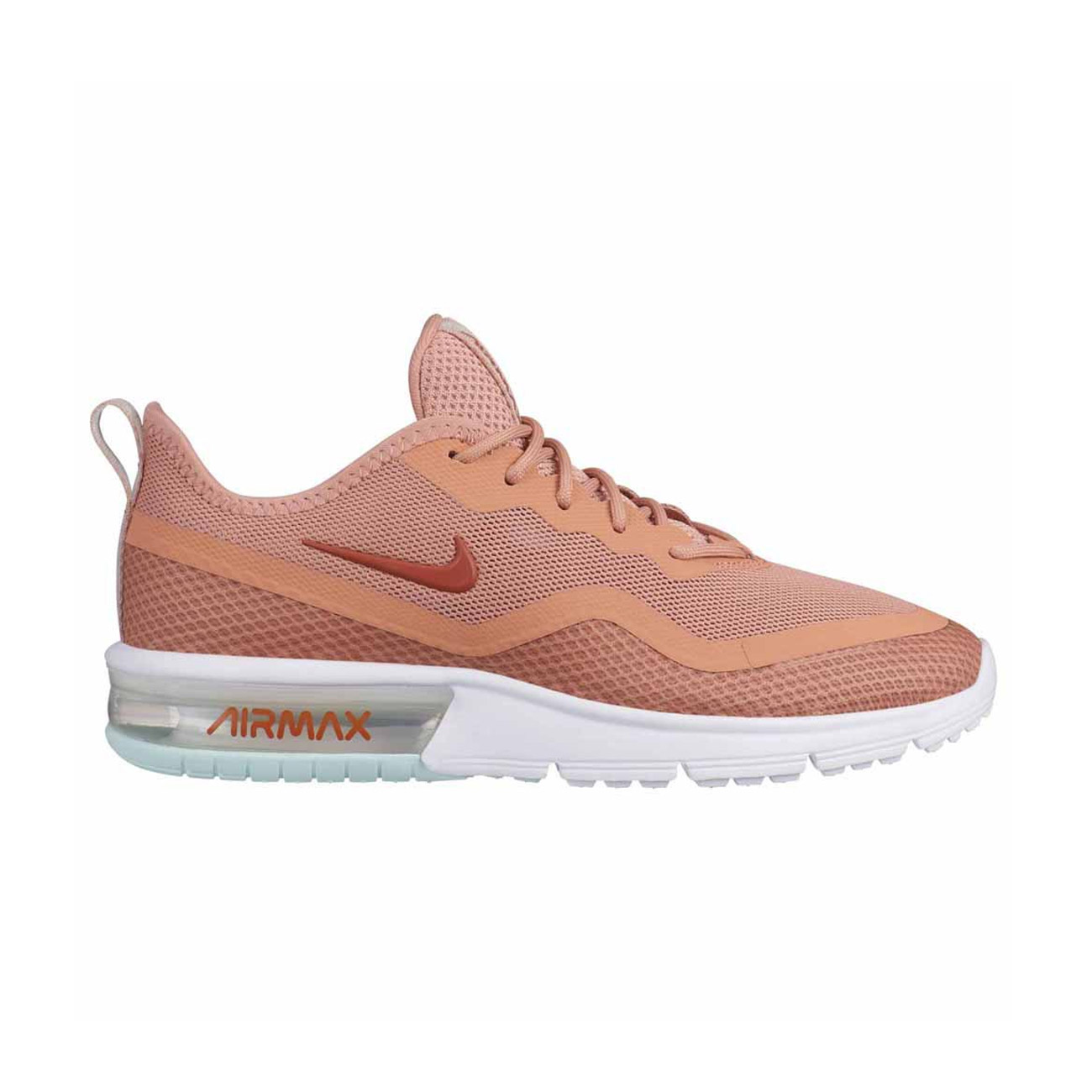 wholesale dealer 164c4 7b639 Nike Womans Air Max Sequent 4 5 Trainers Rose Gold