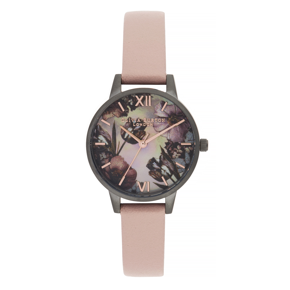 Olivia Burton Twilight Midi Dial Watch with Grey Mother of Pearl Watch  57e64a0005