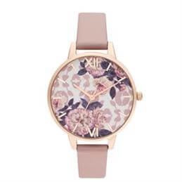Olivia Burton Wild Flower Vegan Rose & Pale Rose Gold Watch