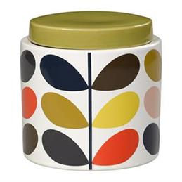 Orla Kiely Multi Stem Storage Jar: 1 Litre