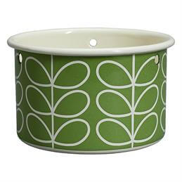 Orla Kiely Small Hanging Pot: Linear Stem